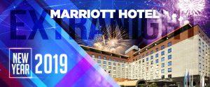 locandina capodanno 2019 al marriott hotel di milano